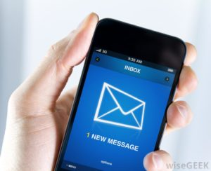 notification-of-new-message-on-smart-phone